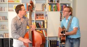 Akoestische Coverband De Hollandse Meesters in actie